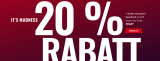 20% auf alles bei Body and Fit
