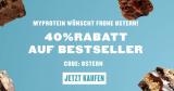 40% auf alles bei Myprotein