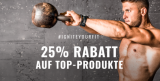 25% Rabatt auf Top-Produkte bei Body and fit