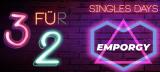 EMPORGY 3 für 2 Aktion zum Singles Day