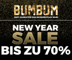 BUMBUM Sale mit bis zu 70%