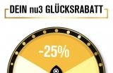 NU3 Gutschein -> 25% auf alles