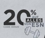 20% Rabatt auf alles von ESN