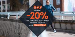 Sportscheck 20% Singles Day Gutschein