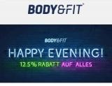 Dank Gutschein 12,5% Rabatt auf alles bei Body&Fit