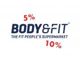 Body and fit Februar Rabatt Coupons