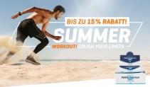 Body & Fit Summer Deals mit bis zu 15% Rabatt