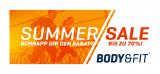 Summer Sale – bis zu 70% Rabatt bei Body&Fit