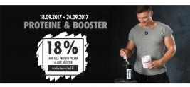 18% Rabatt auf alle ESN Proteine und Booster