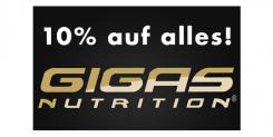 10% Rabatt auf alles von Gigas Nutrition