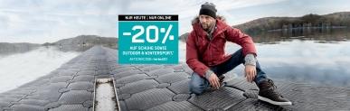 20% auf Winterjacken bei Karstadt Sports