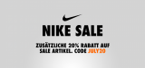 Nike.de 20% Gutschein auf alle Sale Artikel