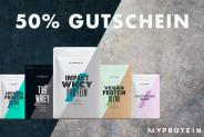 50% Gutschein auf 250 MyProtein Produkte