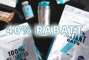 40% Rabatt bei Myprotein