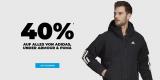 40% auf alles von adidas, NIKE, Under Armour und PUMA bei mysportswear