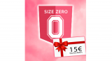 15€ Gutscheincode für Size-Zero