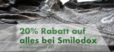 20% Rabatt auf alles bei Smilodox